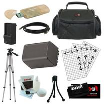 Essential Accessory Kit for Sony Handycam Camcorder HDR-