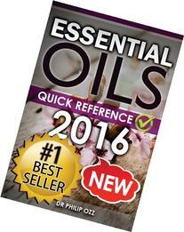 Essential Oils: Recipe Quick Reference: Essential Oils