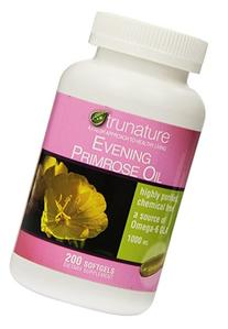 trunature Evening Primrose Oil 1000 mg. 200 Softgels