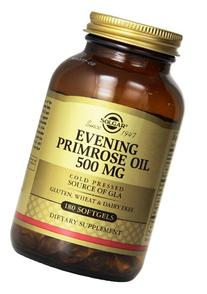 Solgar Evening Primrose Oil Supplement, 500 mg, 180 Count