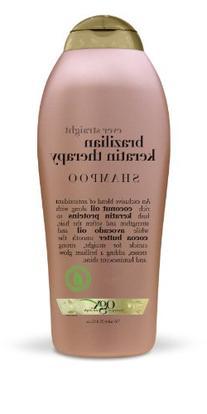 OGX Shampoo, Ever Straight Brazilian Keratin Therapy, 25.4oz