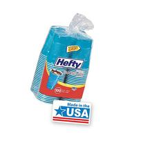 Hefty Everyday Easy Grip Disposable Plastic Party Cups, 18