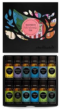 Everyday 100% Pure Essential Oil Gift Set- 12/10 ml ,