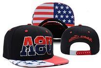 EveryOne-Buy USA American Flag Snapback Cap Adjustable