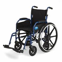 Medline Hybrid Wheelchair + Transport Chair with Removable