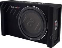 """Kenwood eXcelon P-XW1000B 10"""" Subwoofer in Sealed Enclosure"""