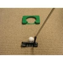 Executive Travel Putter with Telescoping Shaft and Simulated