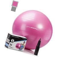 Exercise Ball with Pump- Gym Quality, Anti-Burst, Anti-Slip