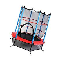 """Giantex Exercise 55"""" Round Kids Youth Jumping Trampoline w/"""