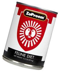 Zupreem Exotic Feline Canned Food 12 - 13.2 Oz Cans