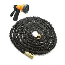 Ogima Latex Expandable Garden Magic Hose with All Brass