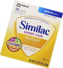 Similac Expert Care NeoSure with iron/ 13.1 oz can / case of