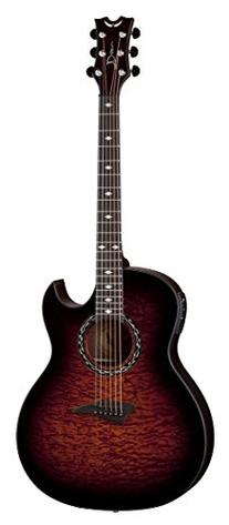 Dean EXQA TGE Exhibition Quilt Ash Acoustic-Electric Guitar