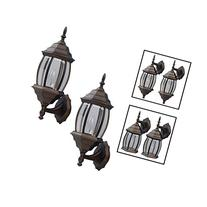 Outdoor Exterior Lantern Light Fixture Wall Sconce Twin Pack