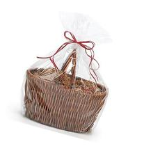 extra large Jumbo size Clear Cellophane Bags Basket Bags