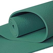 YogaAccessories Extra Long 1/4'' Deluxe Yoga Mat - Forest