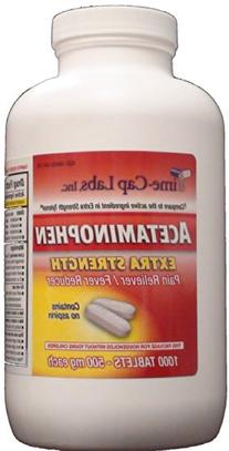 Extra Strength Acetaminophen 500 mg Pain Reliever, Fever