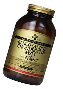 Extra Strength Glucosamine Chondroitin MSM with Ester C