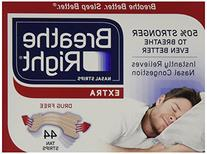 Breathe Right Extra Strong, One Size Fits All Nasal Strips,