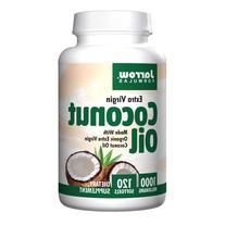 Jarrow Formulas Extra Virgin Coconut Oil, 1000mg, Softgels