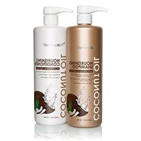 NatureWell Extra Virgin Coconut Oil Nourishing Shampoo and