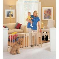 "North States Extra-Wide Swing Gate 57"" - 103"" x 27"
