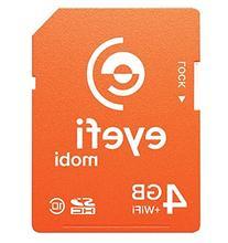 1-year Eyefi Cloud Service with Free Eyefi Mobi 4GB SDHC