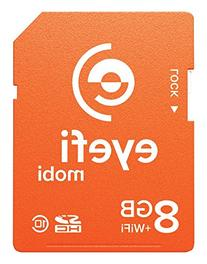 Eyefi Mobi 8GB SDHC Class 10 Wi-Fi Memory Card with 90-day