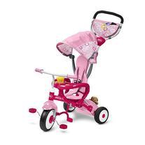 Radio Flyer 445P EZ Fold Stroll 'N Trike Ride On, pink