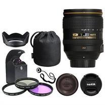 Nikon 24-120mm f/4G ED VR AF-S NIKKOR Lens Bundle: Filters
