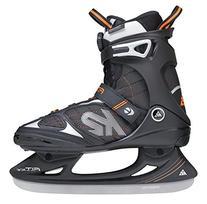 K2 Skate Men's F.I.T. BOA Ice Skate, Black, Size 7