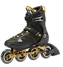 K2 Skate F.I.T Boa Inline Skates, Black/Gold, 7