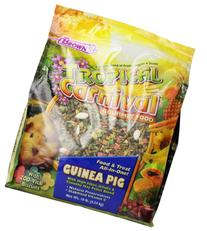 Tropical Carnival F.M. Brown's Gourmet Guinea Pig Food with