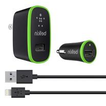 Belkin Apple Certified Charging Kit with Lightning to USB