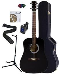 Fender FA-100 Dreadnought Acoustic Guitar Bundle with