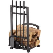 Pleasant Hearth FA338LT Harper Fireplace Log Holder with 4