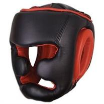 Ringside Full Face Training Boxing Headgear, Black, Large