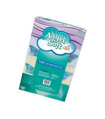 Angel Soft Facial Tissue, 4-Boxes, White, 165ct. each