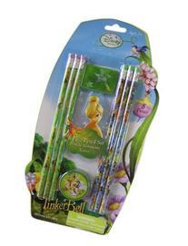 Disney Fairies 8pc Tinkerbell Pencil Set - Tinkerbell School