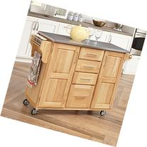 Home Styles Fairmont Kitchen Cart with Drop Leaf