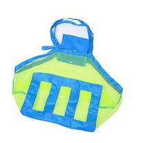 VWH Extra Large Family Mesh Beach Bag Tote Backpack Toys