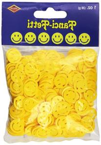 Beistle Fanci-Fetti Smile Faces