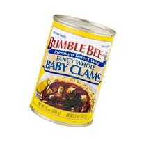 Bumble Bee Fancy Whole Baby Clams, 10.0 OZ