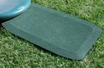 KidWise 1.5 Inch Fanny Pads - GREEN Rubber Safety Mats