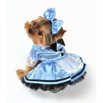 Fantasy Alice Dog Costume Size: X-Small
