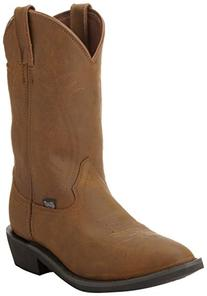 Justin Boots Men's Farm and Ranch Boot Medium Round Toe