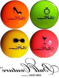 Ball Couture Fashionable Golf Balls for Women Variety Pack,