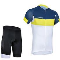 MYNEKO Mens Fashional Short Sleeve Cycling Jersey Suit