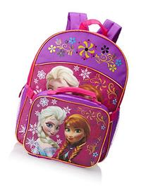 Fast Forward Little Girls'  Anna and Elsa Backpack with