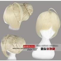 Fate/Zero Saber Alter Cosplay Wig